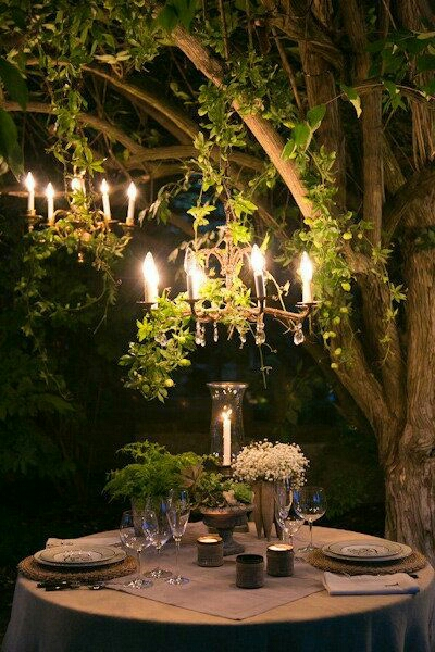 Romantic Enchanted Forest Wedding Upon An Occasion