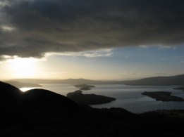 conic hill looking along the highland boundary fault