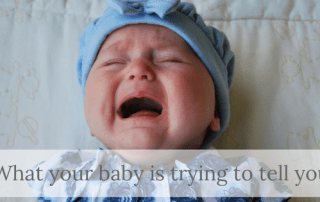 what your newborn is telling you with their crying