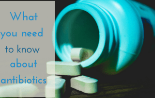 what you need to know about antibiotics