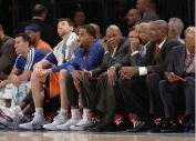 Grim feeling on the New York Knicks sidelines these days, even after finally winning consecutive games this week.