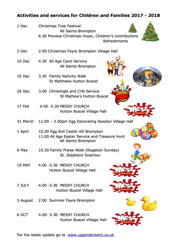 Activities and services for Children and Families 2018.2 - revised