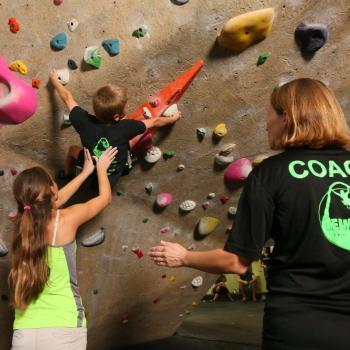 Youth Rock Climbing Team ULI Climbs at Upper Limits St. Louis