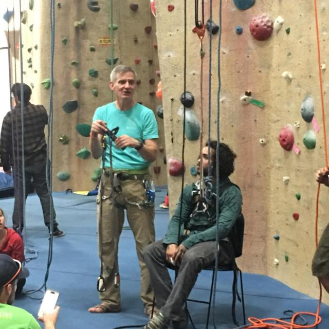 So happy to have our friends from the adaptclimbgroup herehellip