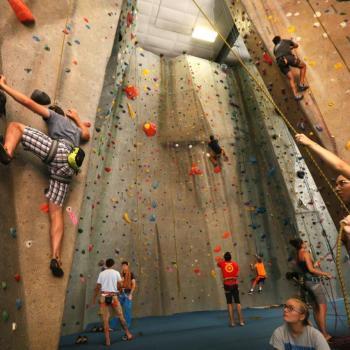 gym rock climbing upper limits indoor rock climbing gym st. louis