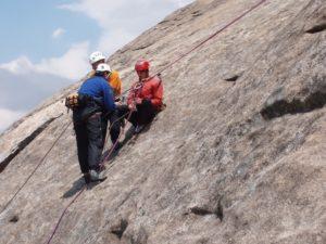 outdoor rescue rock climbing class upper limits rock climbing gym st. louis