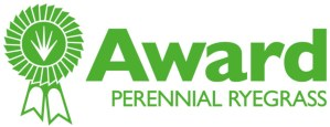 Award Perennial Ryegrass Logo with Medal