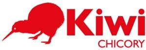 Logo of Kiwi Chicory with a Kiwi Bird