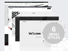 6 menu styles