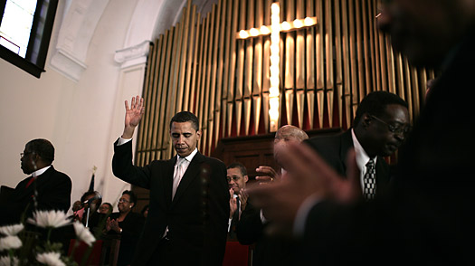 obama-in-church