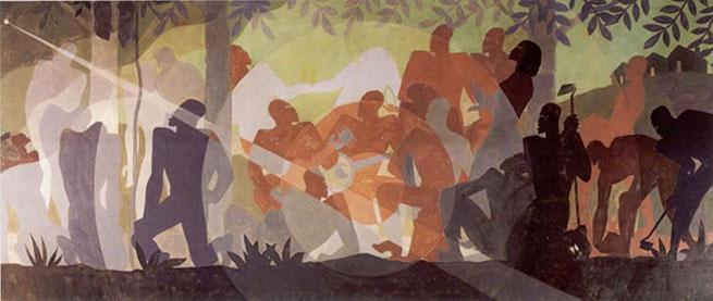 aaron douglas art work