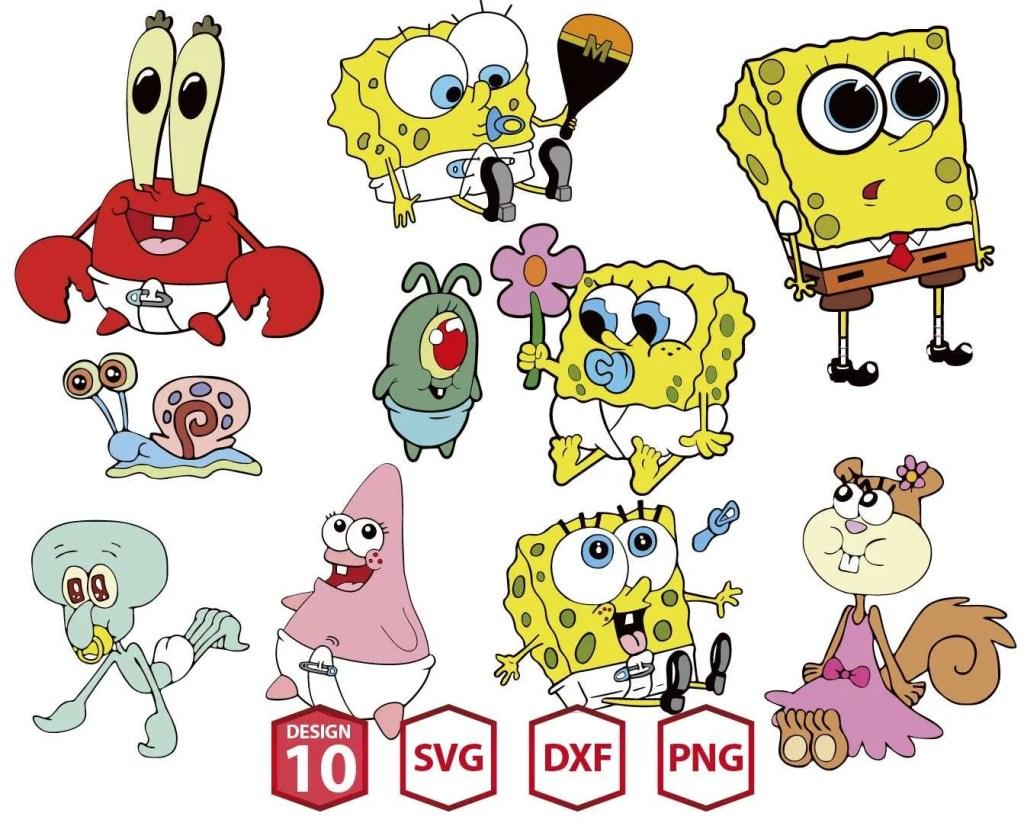 Baby SpongeBob MEGA-03