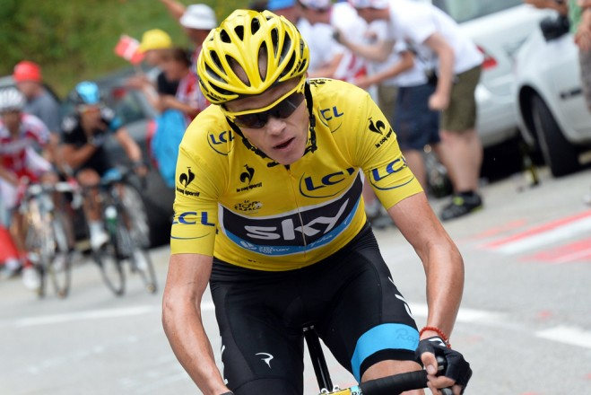 Froome dopad?