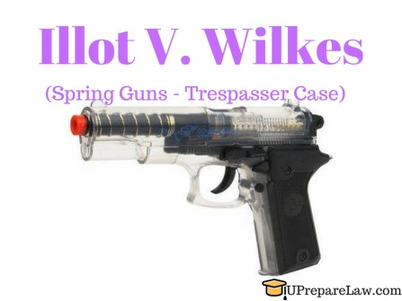 Illot V. Wilkes case brief,Volenti non fit injuria,General Defences in torts law