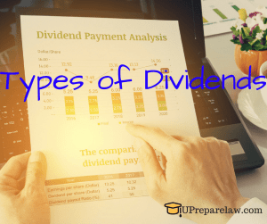 Types of Dividends pdf