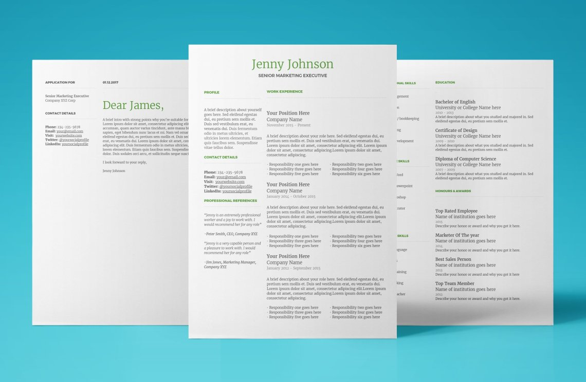 Modern Resume Template for Google Docs