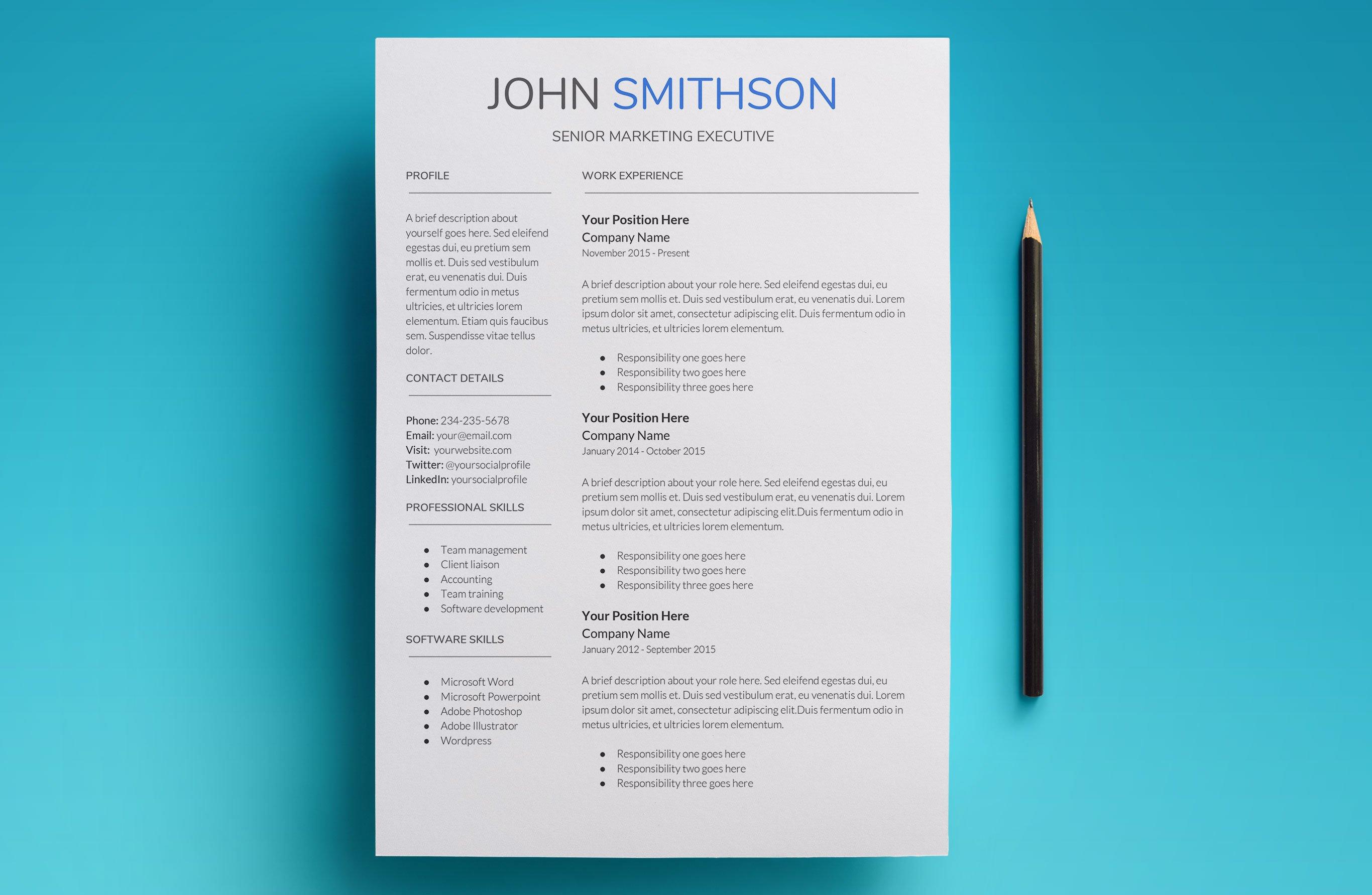 fantastic google docs resume template