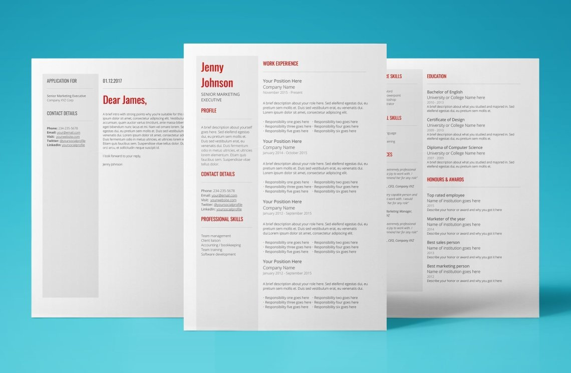 Powerful Resume Template To Help You Kick Ass