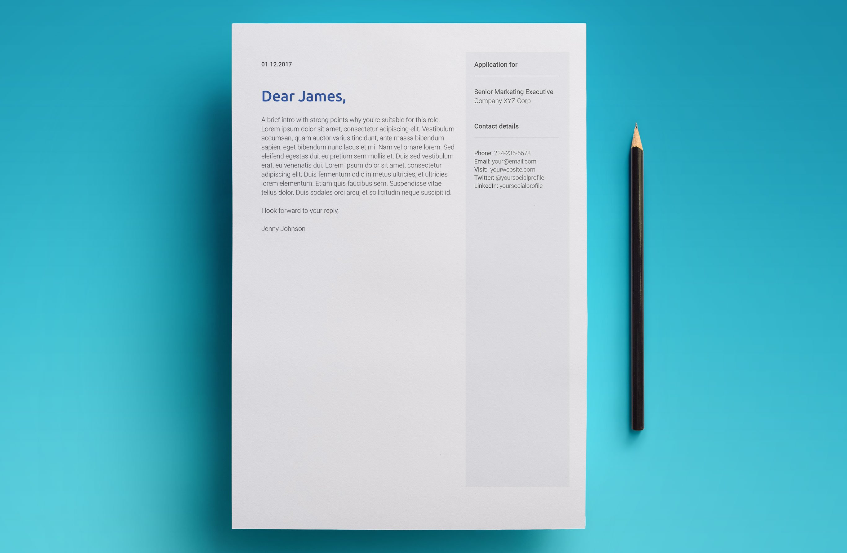 A Modern, Free 2018 Design Google Docs Resume Template.  Resume Templates Google