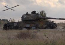 """Компанія """"СпецТехноЕкспорт"""" випробовує перший український дрон-камікадзе (відео)"""