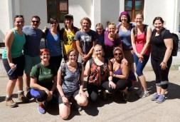 Peace Corps ready to hike!