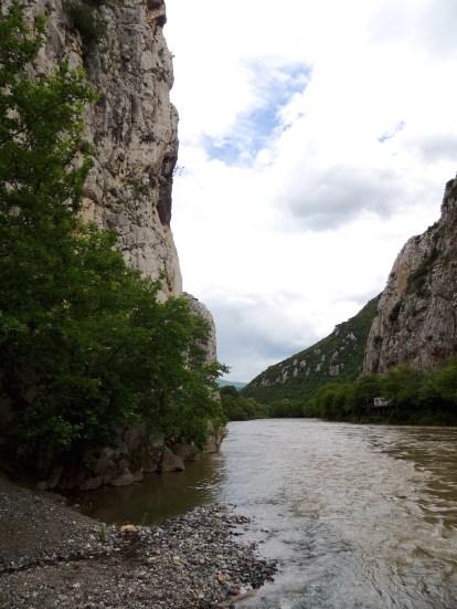 The Vardar river