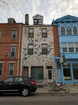 Mosaic house!
