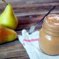 Slow Cooker Spiced Pear Butter