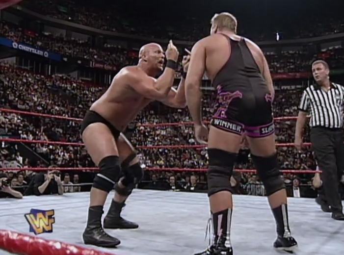"""Image result for WWE Survivor Series 1997 Owen Hart vs """"Stone Cold"""" Steve Austin  wwe.com"""