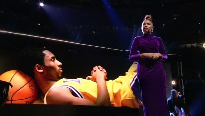 Watch Magic Johnson And Jennifer Hudsons Powerful Kobe Tributes At The All-Star Game