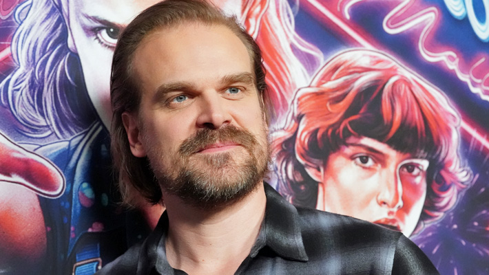 David Harbour Dunks On His Old The Newsroom Character While On Apartment Lockdown