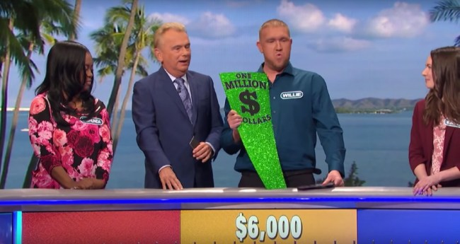 Wheel of Fortune Player Nearly Gave Pat Sajak A Stroke By Just Missing  Million