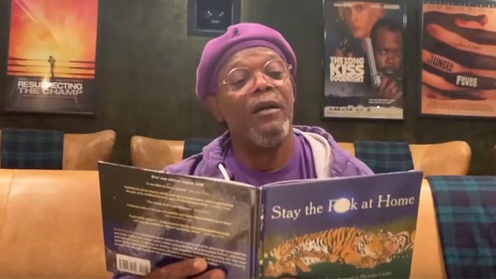 Samuel L. Jackson Made The Best Motherf*cking Self-Isolation Video Out There