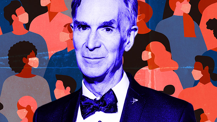 Bill Nye Schools Anti-Maskers In New TikTok Video