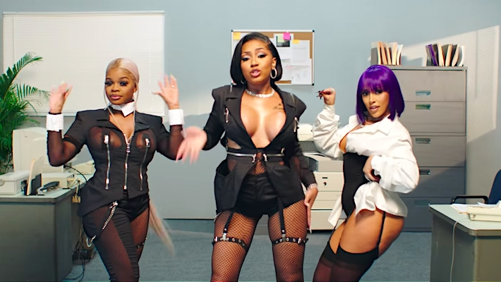 City Girls Go To Work In Their Business Casual P*ssy Talk Video With Doja Cat