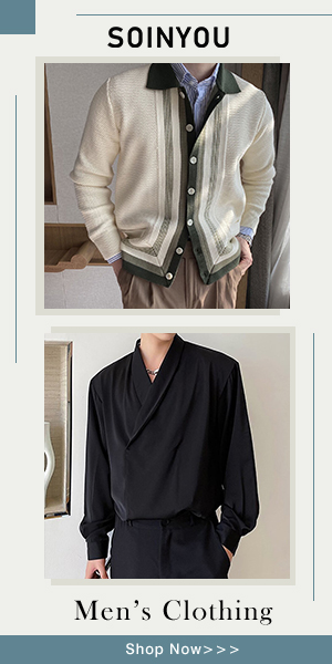 Soinyou trendy vintage clothing