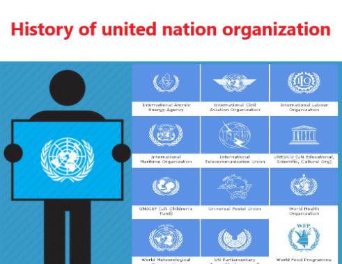 संयुक्त राष्ट्र संघ का इतिहास