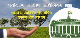 भारत में पर्यावरण से संबंधित कानून और संस्थान