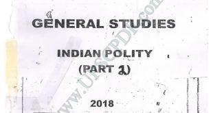 Vajiram and Ravi Indian Polity Printed Notes Part 2