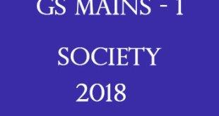 Vision IAS Society Printed Notes 2018 PDF Download