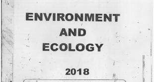 Vajiram and Ravi EnvironmentPrinted