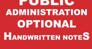 Pawan Kumar Public Administration Notes Complete PDF