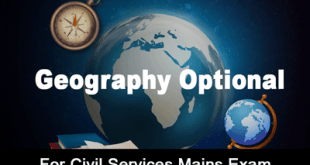 Geography Optional Notes 2019 PDF Download