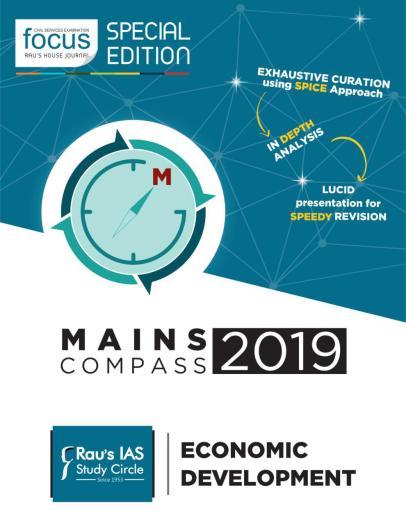 Raus IAS Mains Focus 2019 Economic Development PDF