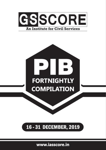GS SCORE PIB November 2019 16-31 December PDF