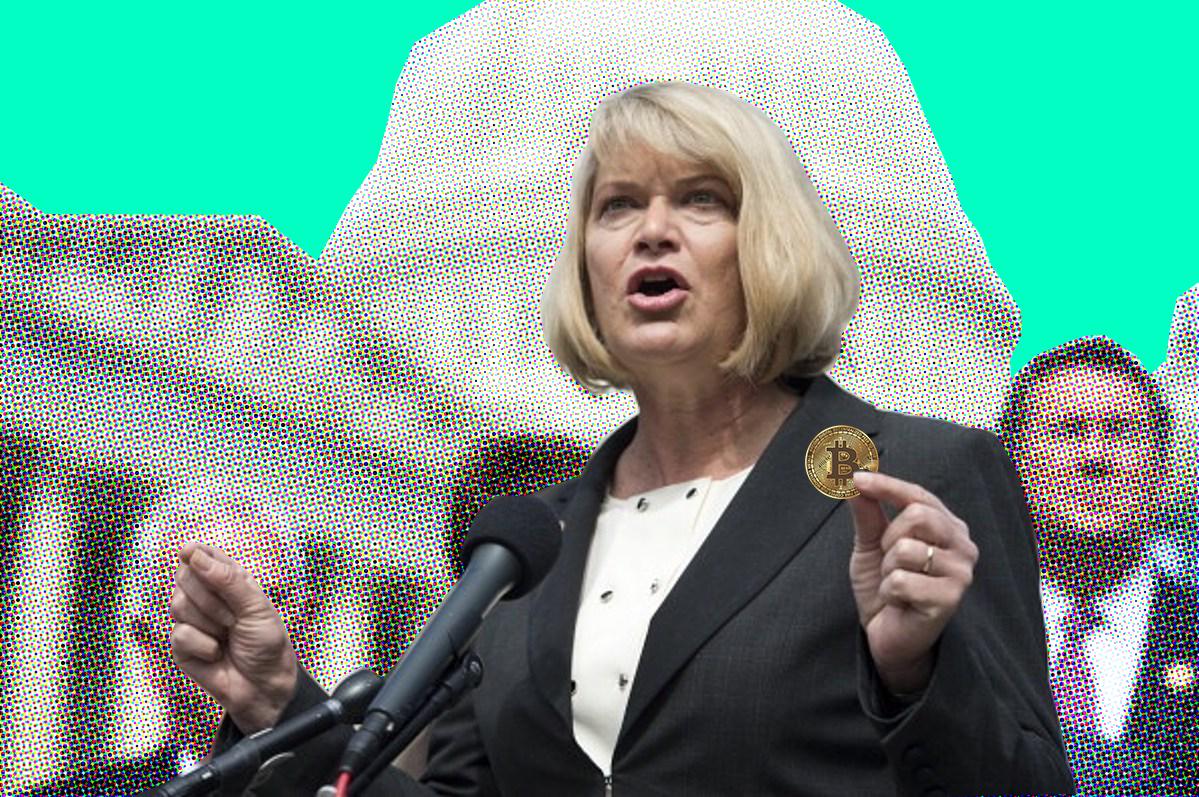 Republican Senator elect Synthia Lummis is a bitcoin advocate on her way to Washington D.C.