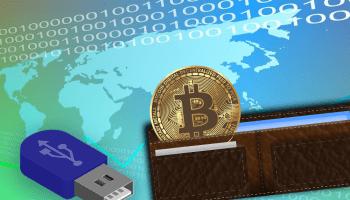 bit coin wallet storage hot wallet cold wallet
