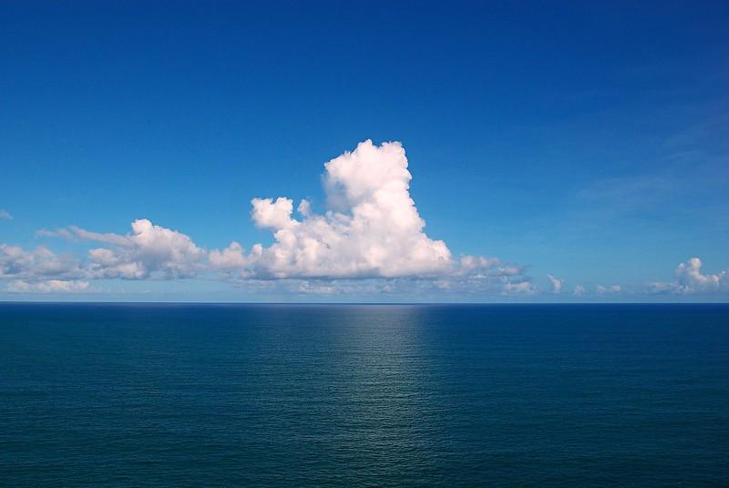 calm waters of the atlantic ocean in the bermuda