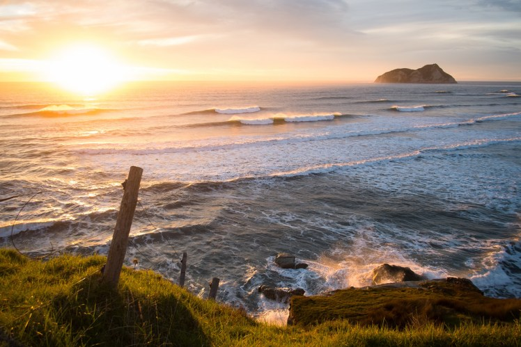 East Cape, New Zealand Sunrise