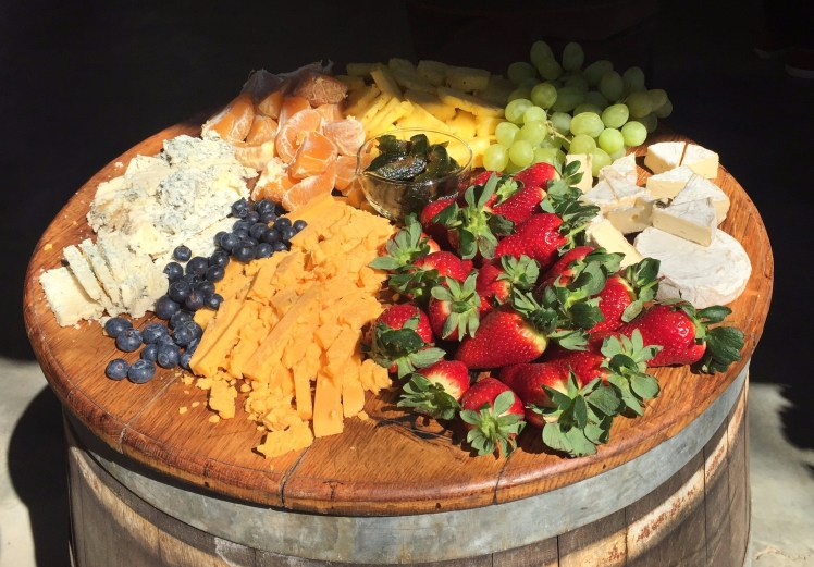 Fruit & Cheese in South Africa's Wine route